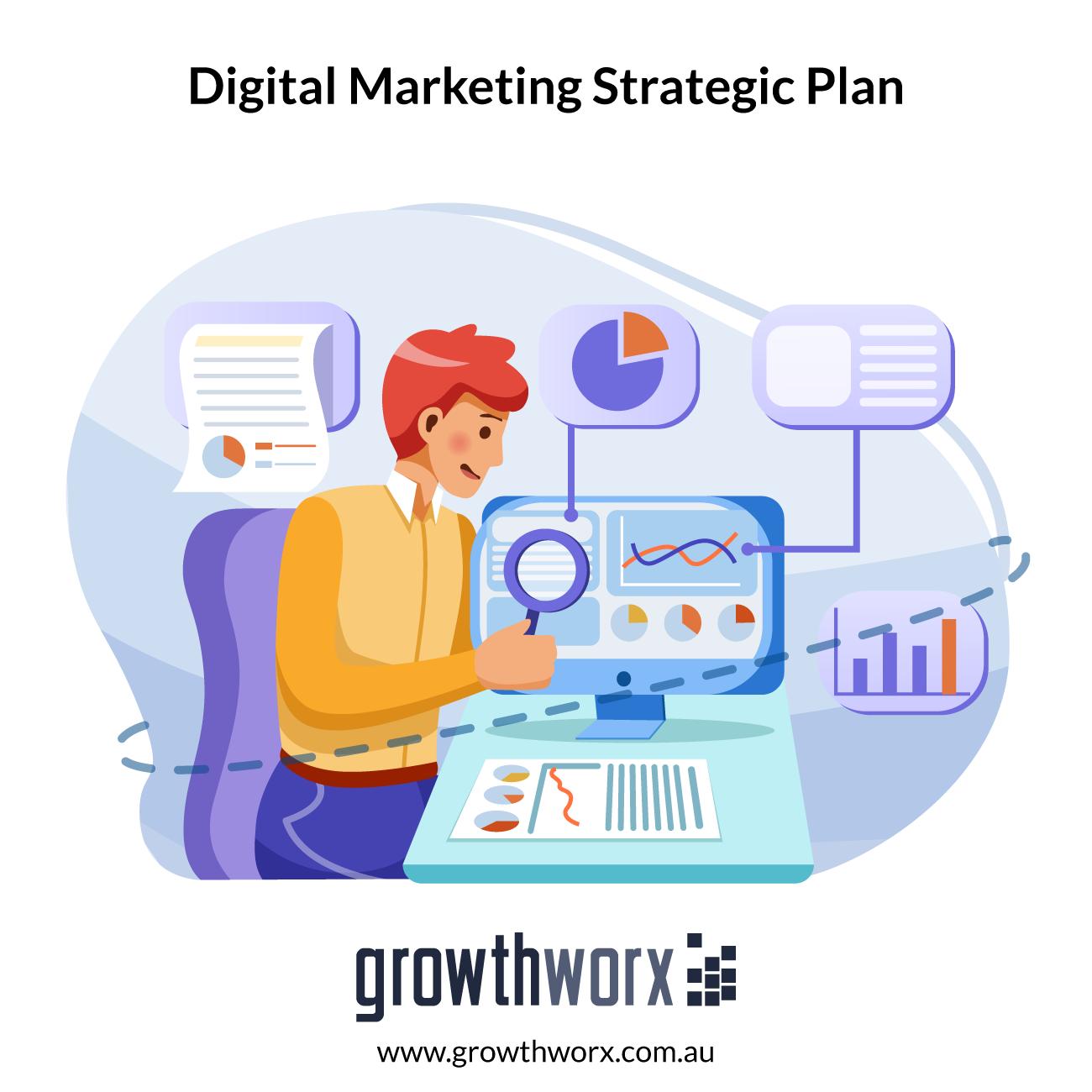 Create a strategic digital marketing plan 1