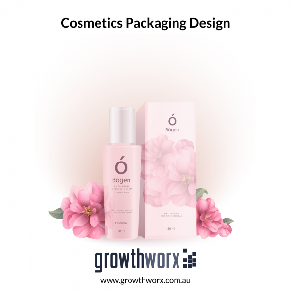 Design Cosmetic packaging with print ready 300dpi as per offset printing specification + PNG+PDF 1