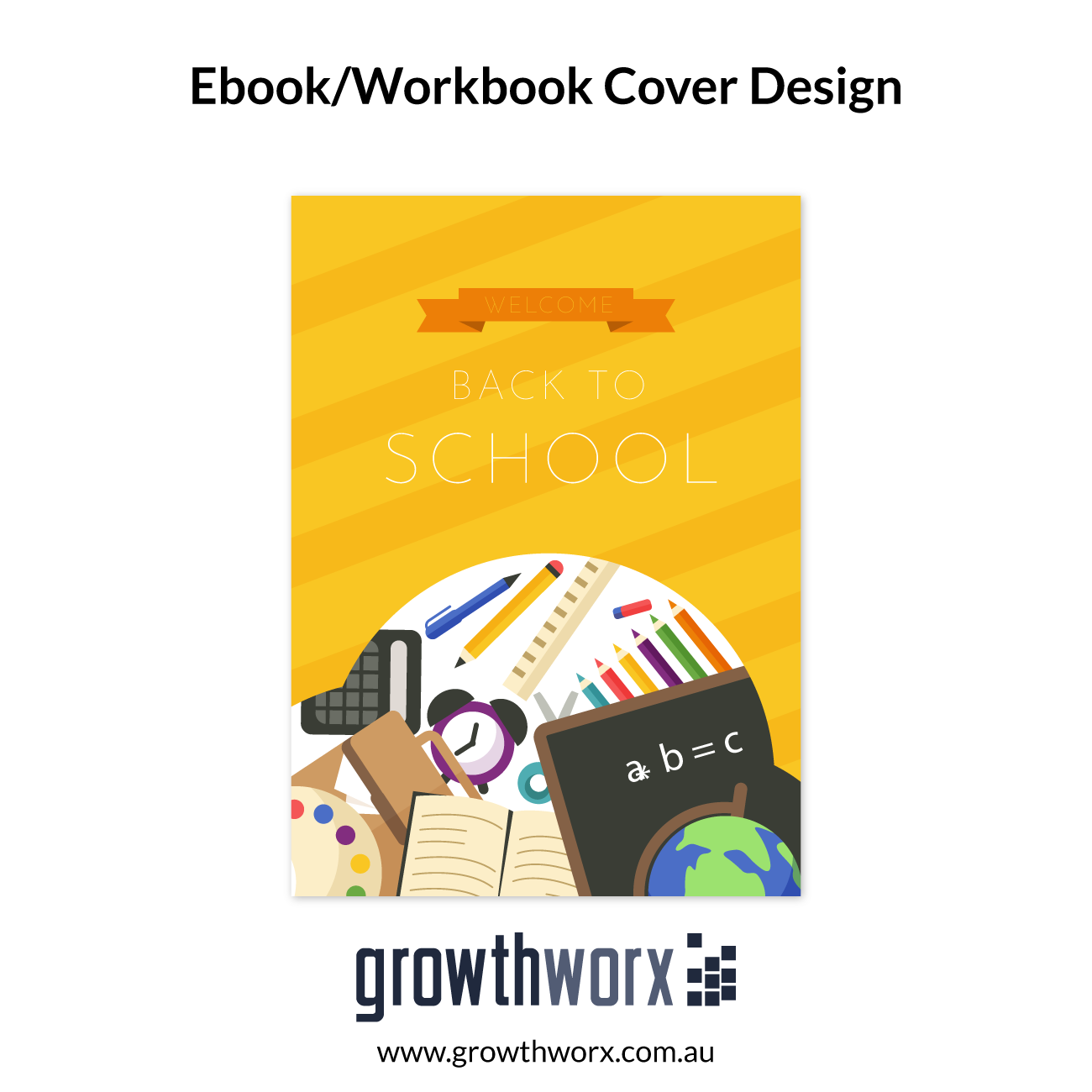 Design For Ebook/Workbook Cover , CD or DVD box, Software box, Workbook 1