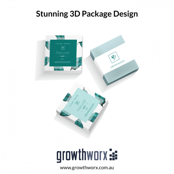 Design a Stunning 3D Package with Windows or Apple Device 1