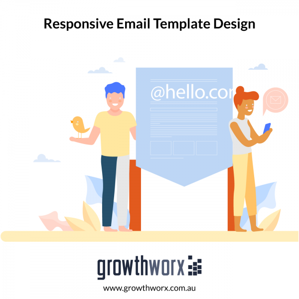 Design a responsive email template 1