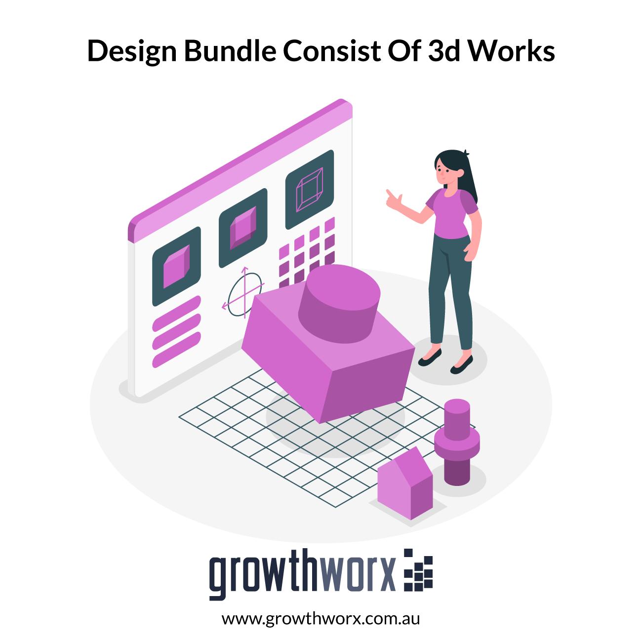 Design bundle consist of 3d Paperback, Box, Dvds and CDs 1