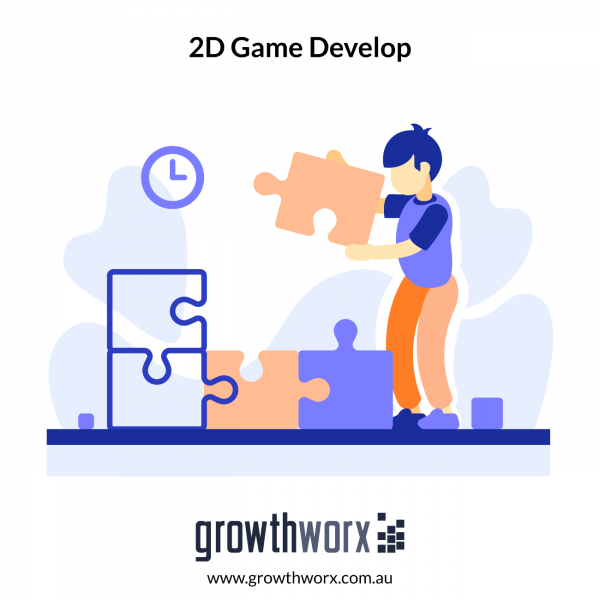 Develop a 2D game in Unity with 1 level and 1 plugin 1