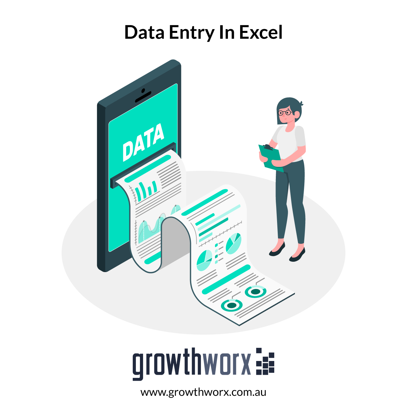 Do 3 Hours of Data Entry in Excel 1