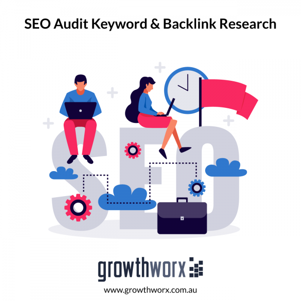 Do an SEO audit with keyword and backlink research 1