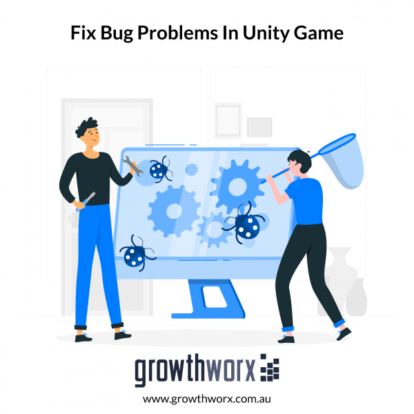 Fix bug problems in your Unity game 1