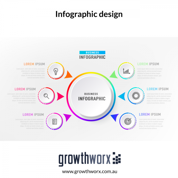 Infographic design with 25 Data Points (includes Source file with Commercial Use) 1