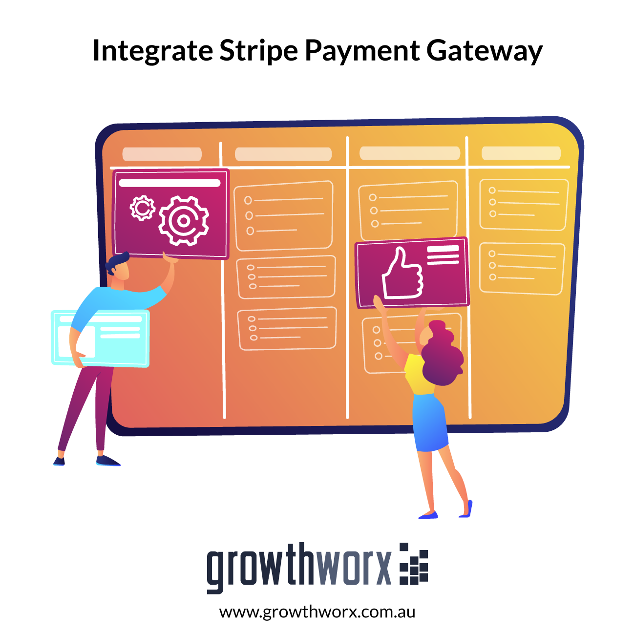 Integrate Stripe payment gateway to your website - simple charge option, customer account creation and subscription plan, recurring payments 1