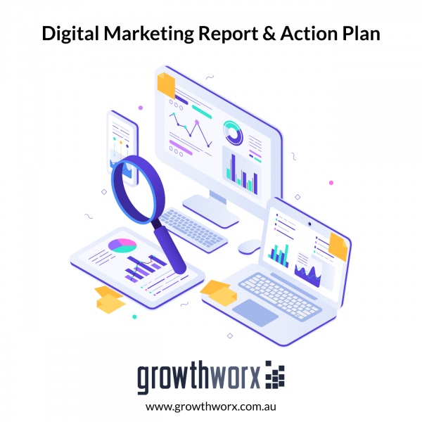 Provide a digital marketing report and action plan for your business including a marketing calendar 1