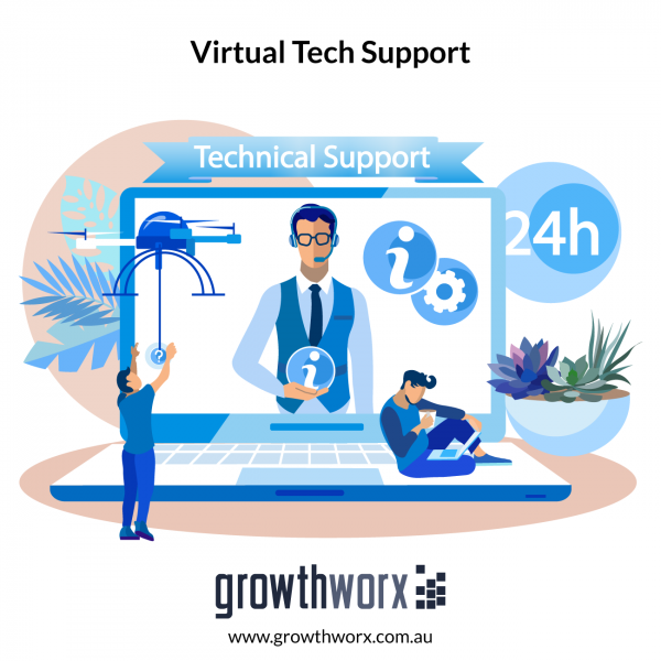 Provide virtual tech support on an hourly basis 1