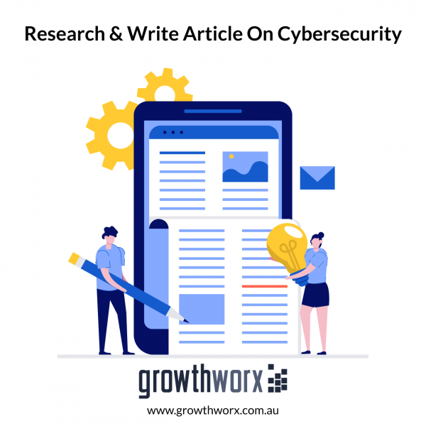 Research and write an 800 word article on a cybersecurity topic 1