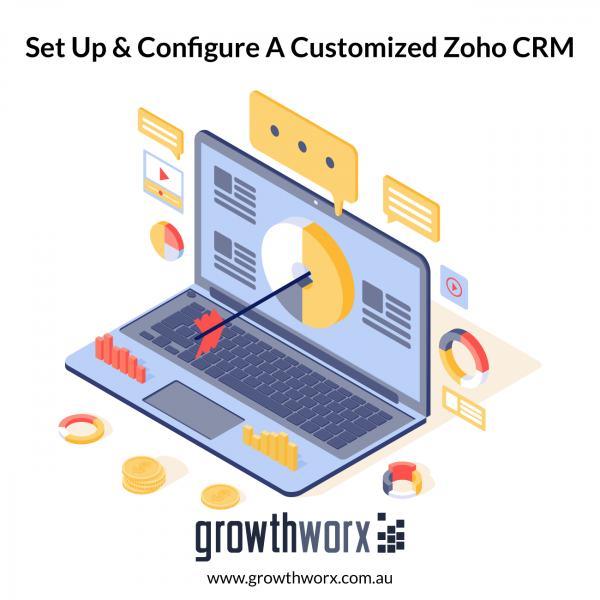 Set up, and configure a customized Zoho CRM 1
