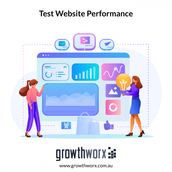 Write 30 - 60 test cases for you to test your website performance 1