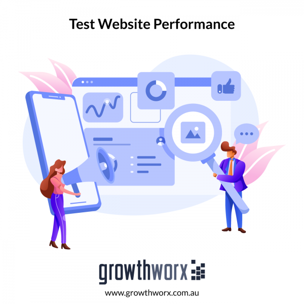 Write up to 10 test cases for you to test your website performance 1