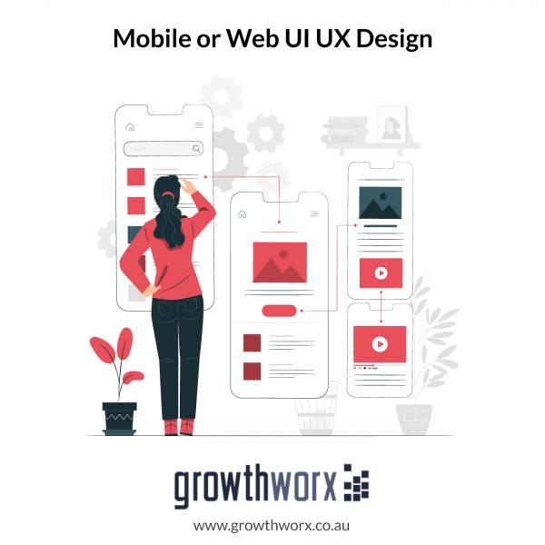 1 Mobile or Web UI UX Design 1