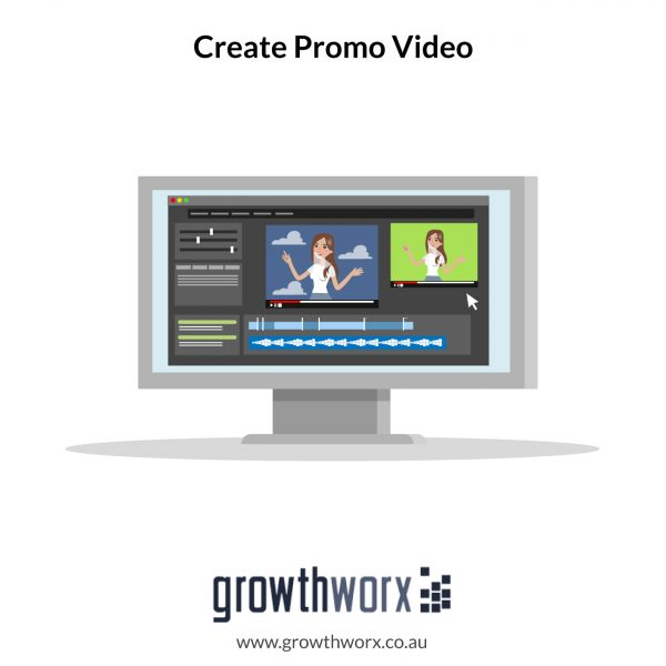 We will create app and website preview promo video 1