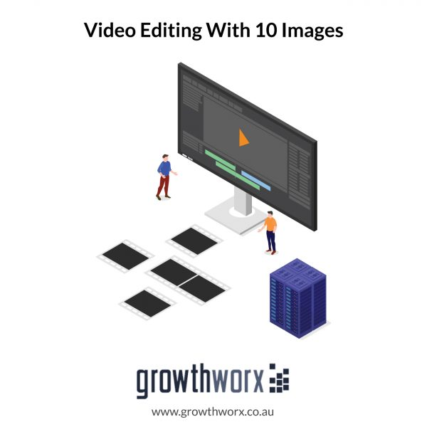 Create a promotional, intro, product, event, video editing with 10 images 1