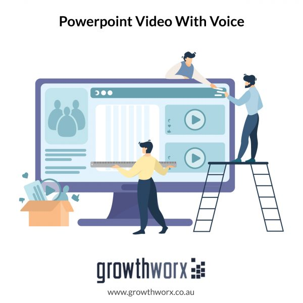 Create powerpoint video with voice 1