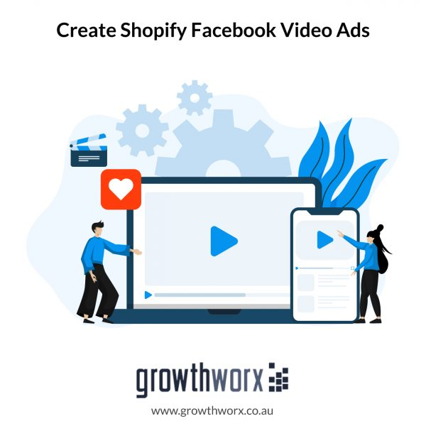 Create shopify facebook video ads for dropshipping products 1