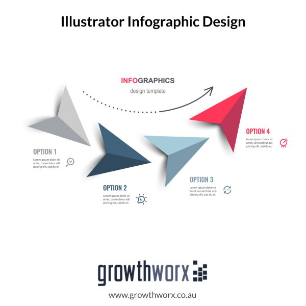 Custom made illustrator infographic design and more than 40 data points with Copy rights 1