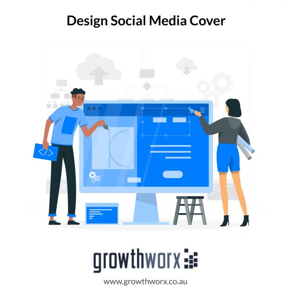 Design awesome social media cover with 5 size variations 1