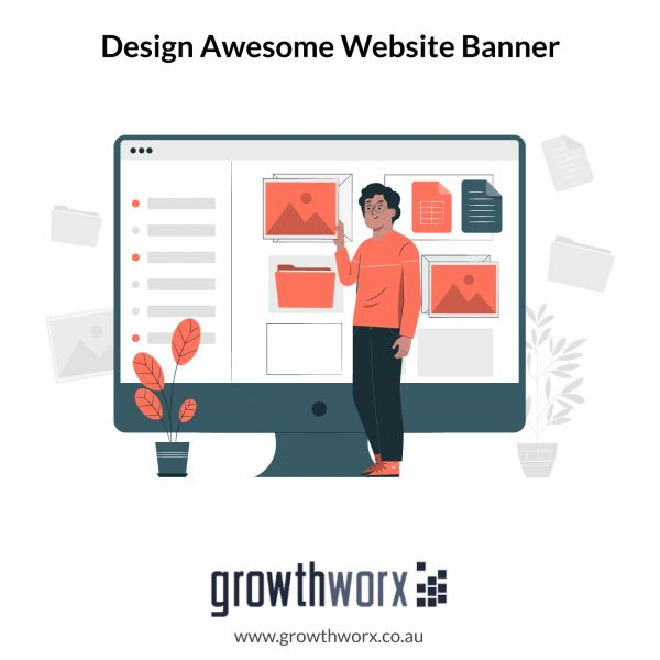 Design awesome website banner with 5 size variations 1