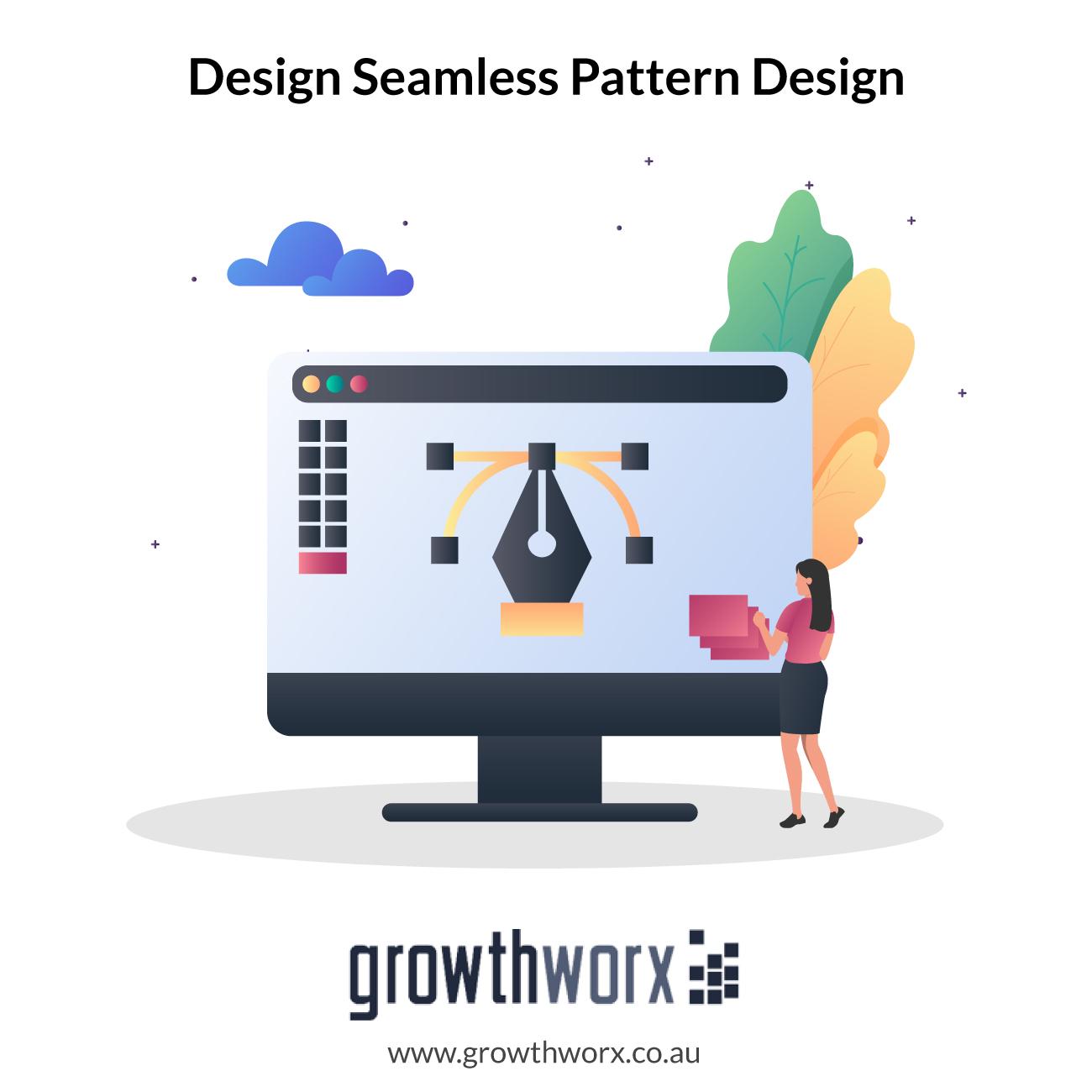 Design seamless repeat textile prints pattern design 1