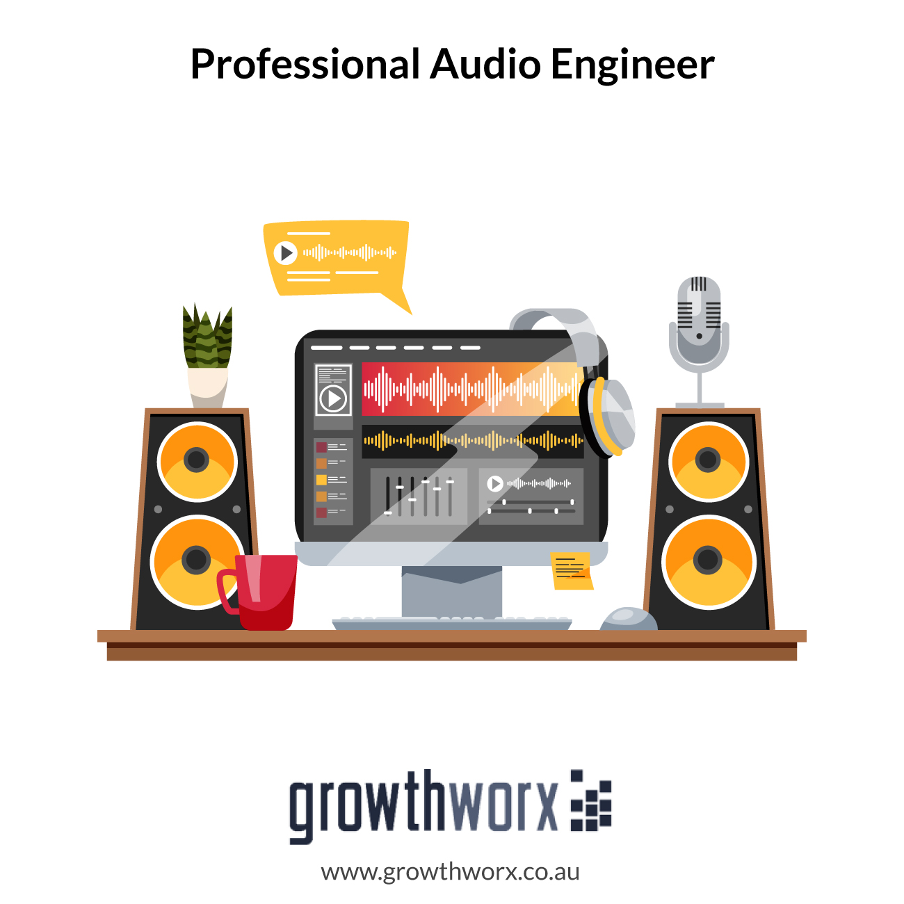 I will be your audio editing and mixing engineer 1