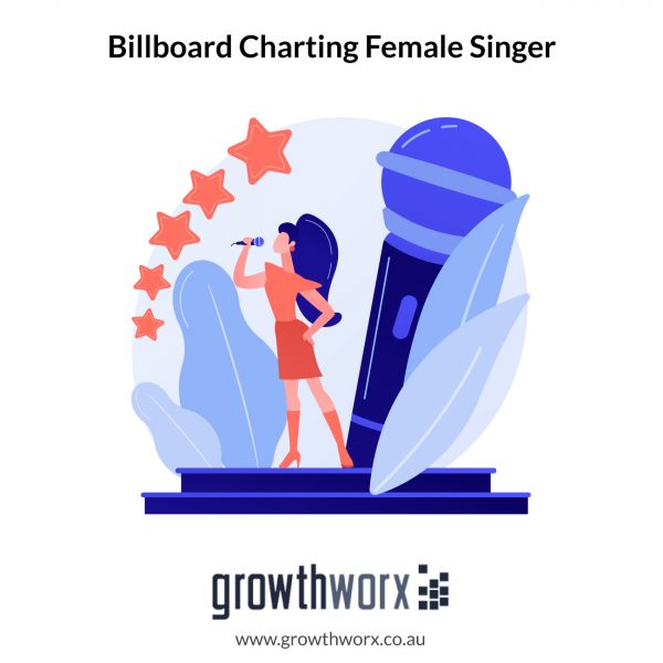 I will be your billboard charting female singer pop edm country rock 1
