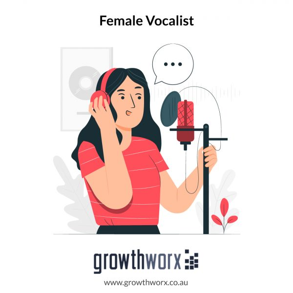 I will be your female vocalist, singer pop edm rnb etc 1