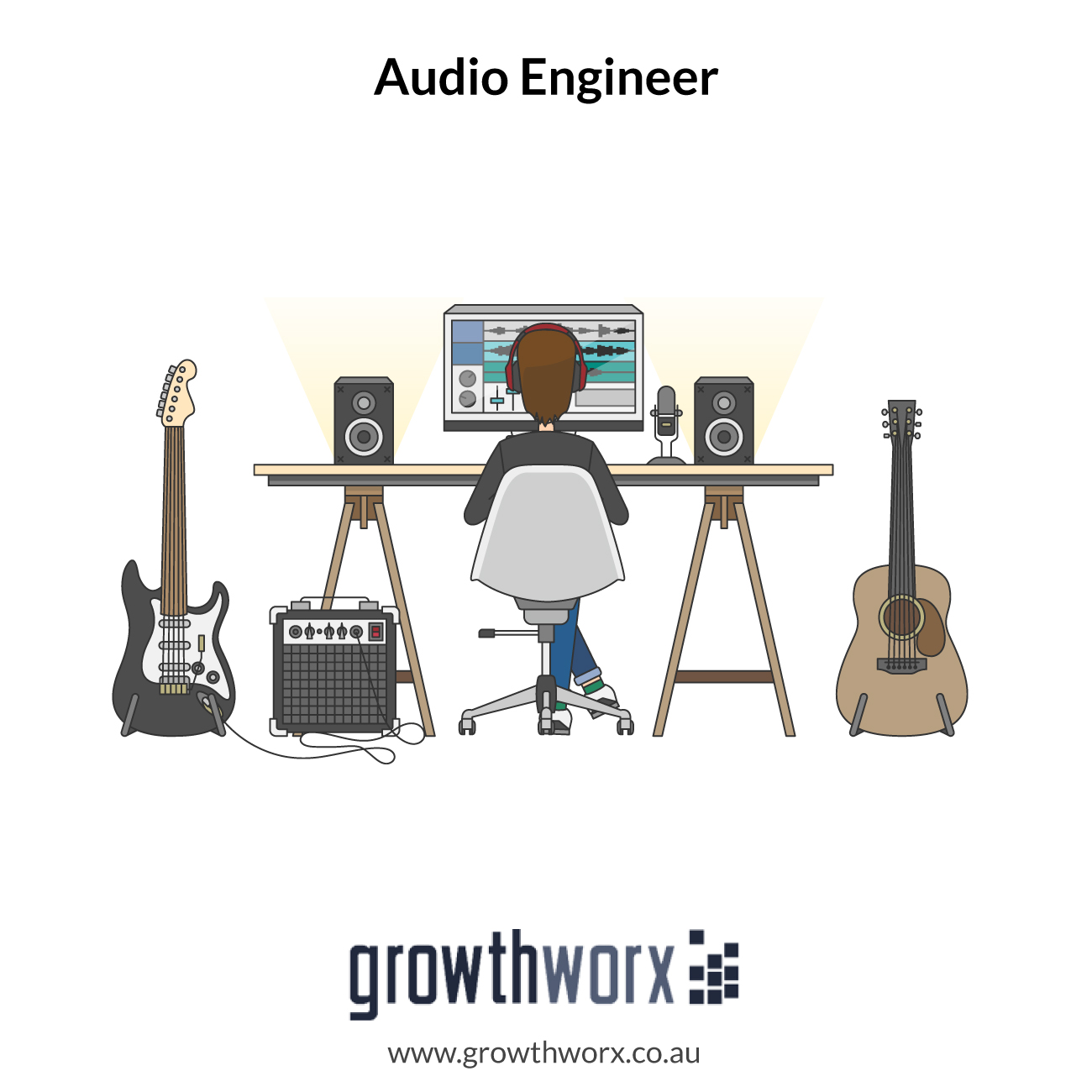 I will be your go to audio engineer 1