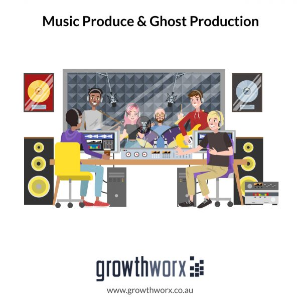 I will be your music producer, ghost production 1