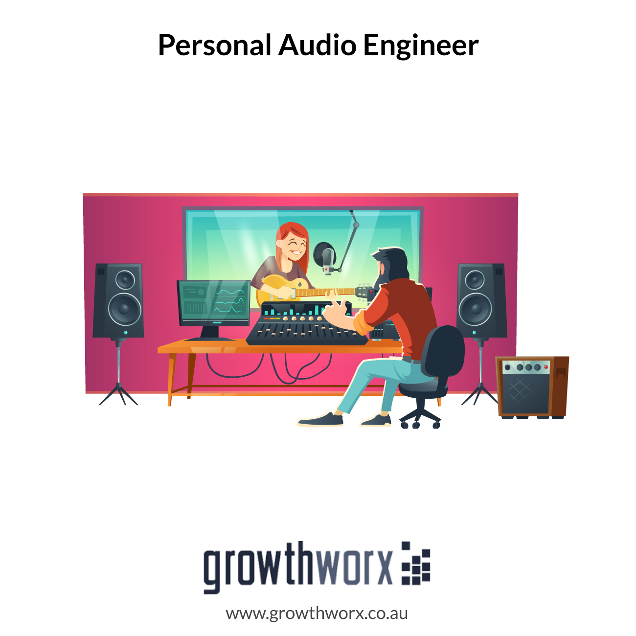 I will be your personal audio engineer 1