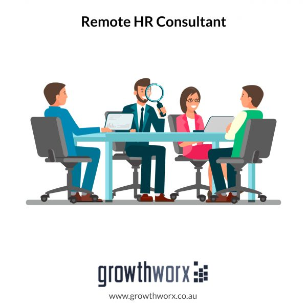 I will be your remote HR consultant 1