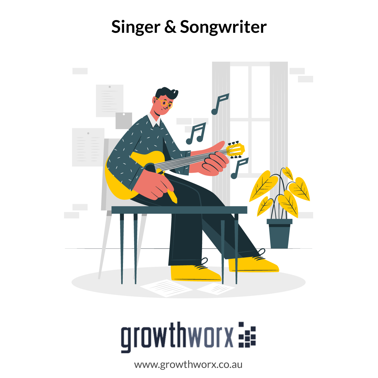 I will be your singer and songwriter 1