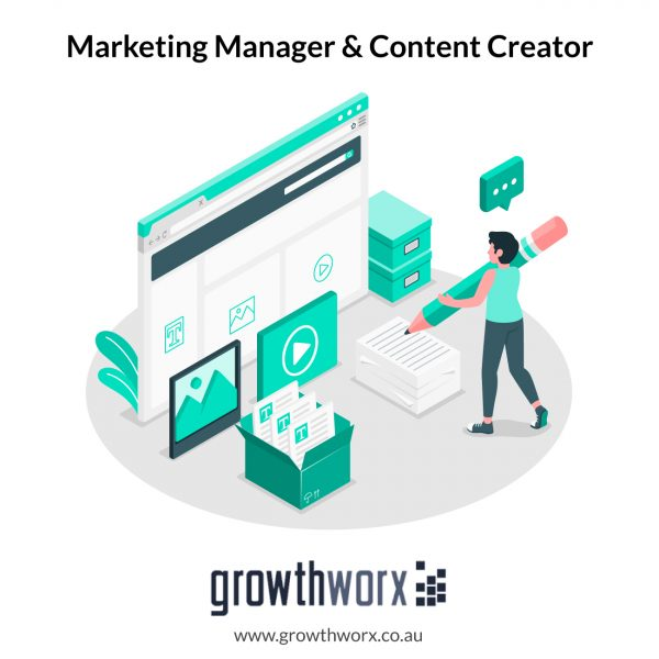 I will be your social media marketing manager and content creator 1