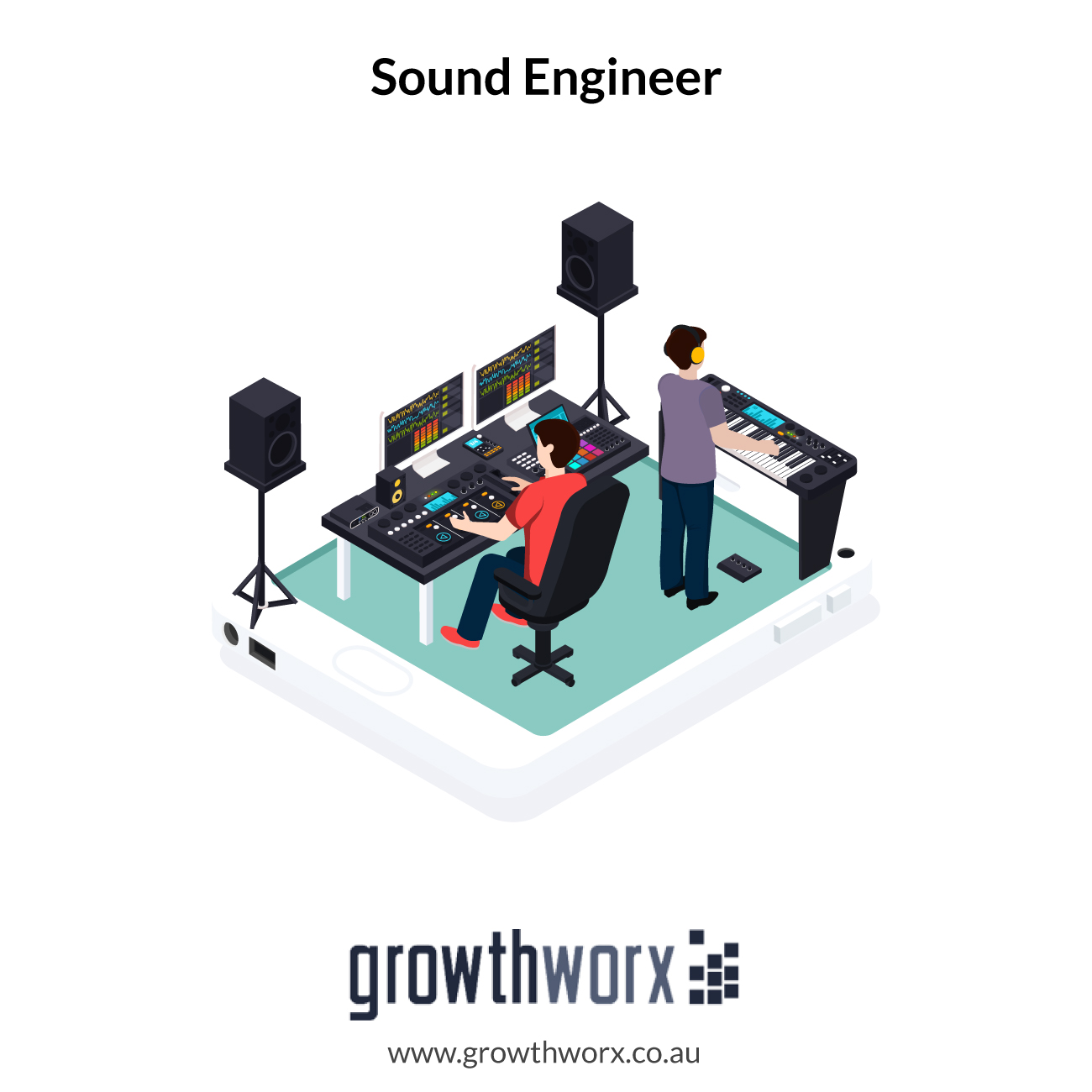 I will be your sound engineer 1