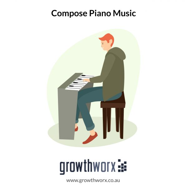 I will compose piano music for your project 1