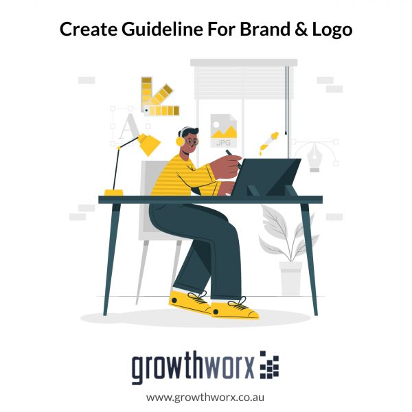 I will create a guideline for your brand and logo 1