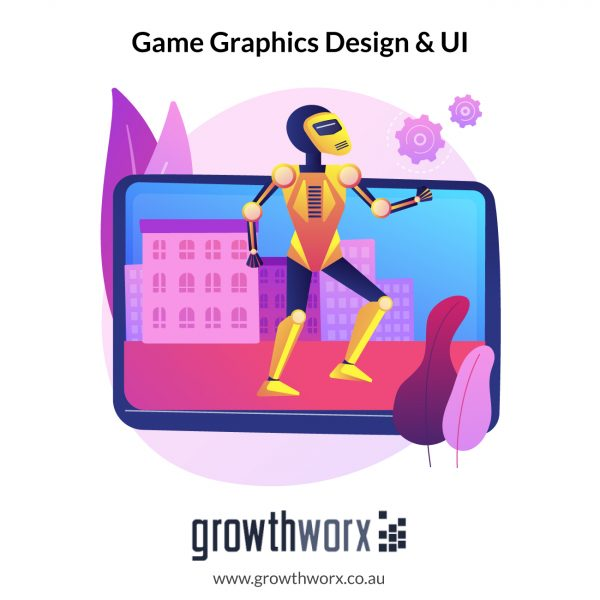 I will create game graphics design and ui 1