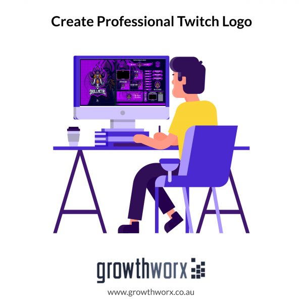 I will create professional twitch logo , overlays and screens 1