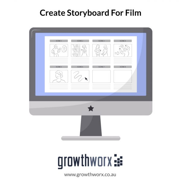 I will create storyboard for film, animation,commercials 24 hours 1