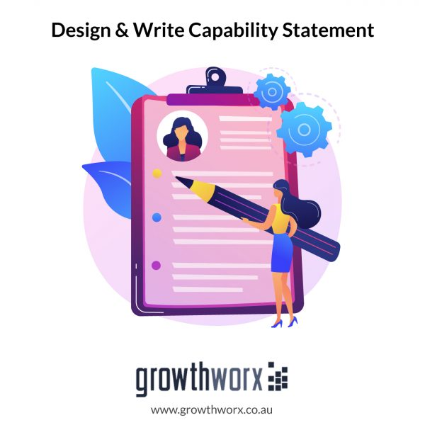 I will design and write your capability statement 1