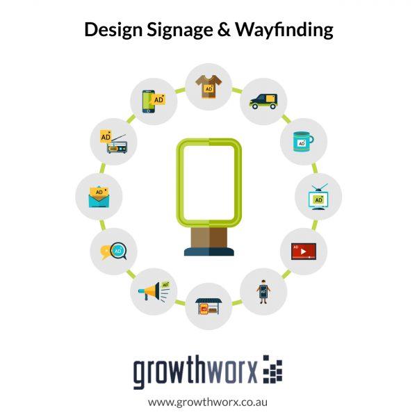 I will design signage and wayfinding 1