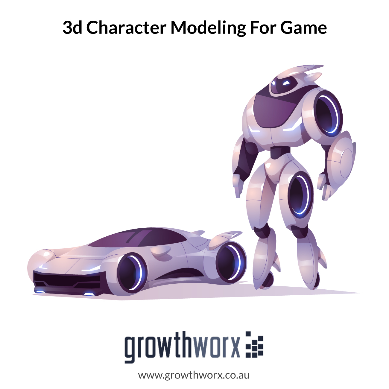 I will do 3d character modeling for game, printing or animation 1
