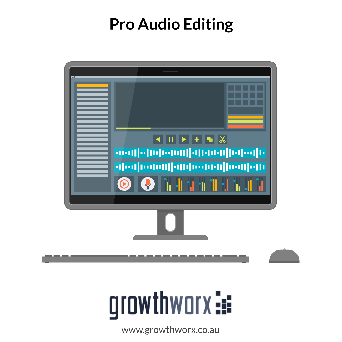 I will do a pro audio editing for your audio projects 1