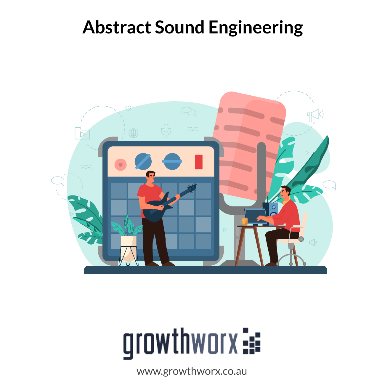 I will do abstract sound engineering for your music 1