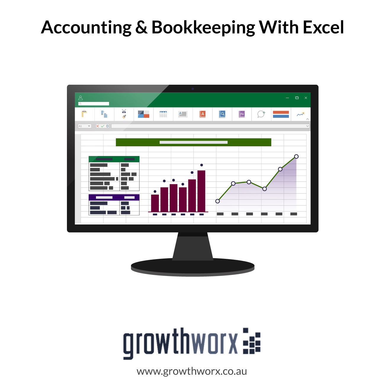 I will do accounting and bookkeeping in quickbooks online and xero with excel 1