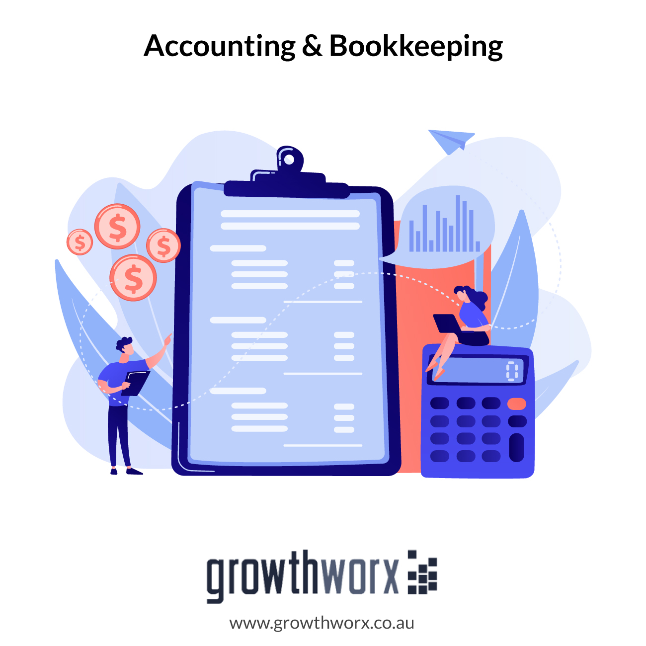 I will do accounting, tax, financial statements, bookkeeping 1
