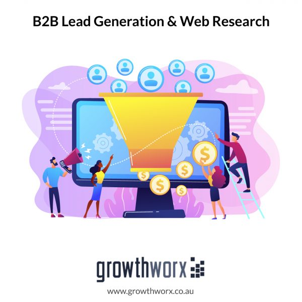 I will do b2b lead generation for your targeted business 1
